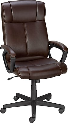 High Back Office Chair, Brown. https://www.Traveller Location/s7/is/