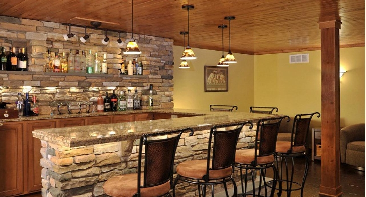 Rustic Home Designs Ideas Homemade Ftempo, Home Bar Design Ideas - AMS