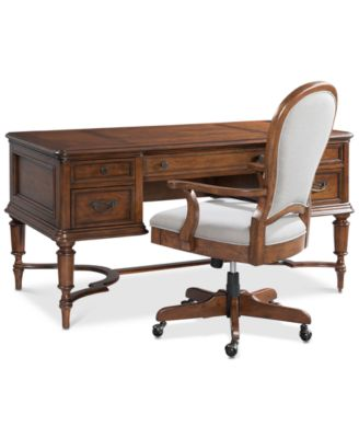 Furniture Clinton Hill Cherry Home Office Furniture Collection
