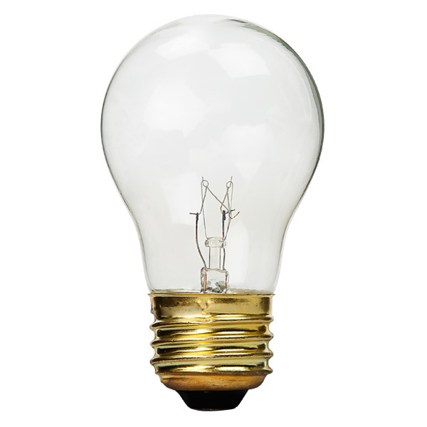 15 Watt - Appliance Bulb - 130 Volt - PLT 15A15CL | 1000Bulbs.com
