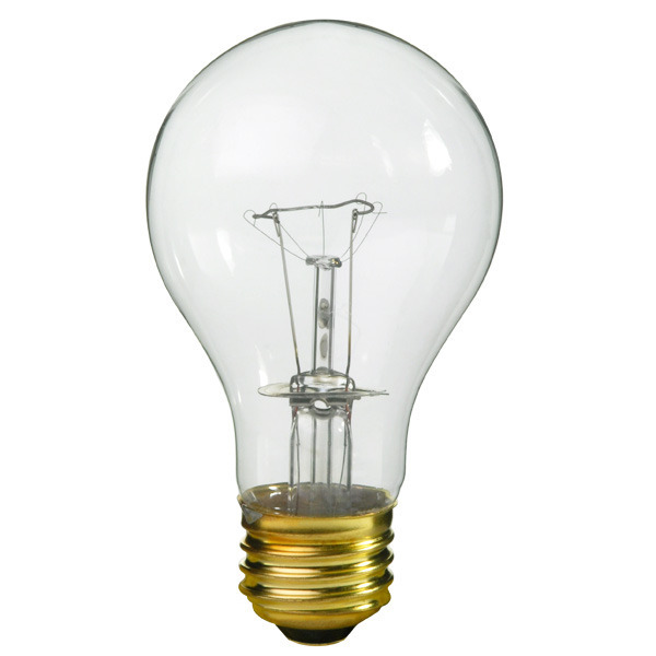 40 Watt Light Bulb - Clear - 20,000 Hours | 1000Bulbs.com