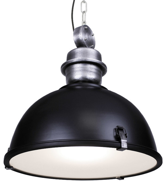 Large Industrial Warehouse Pendant Light - Industrial - Pendant