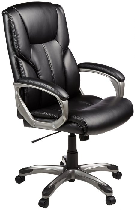 Good inexpensive office chair: High Back Executive Chair.