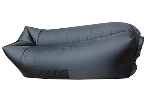 TB Portable Lounger Air Sleeping Bag Beach Inflatable Sofa Bed Queen Size 2  Air Compartment for
