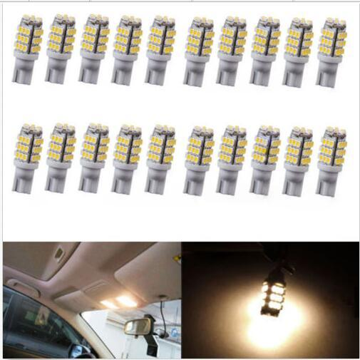 T10 42SMD Light W5W Car LED Lights Bulbs Interior Natural White RV