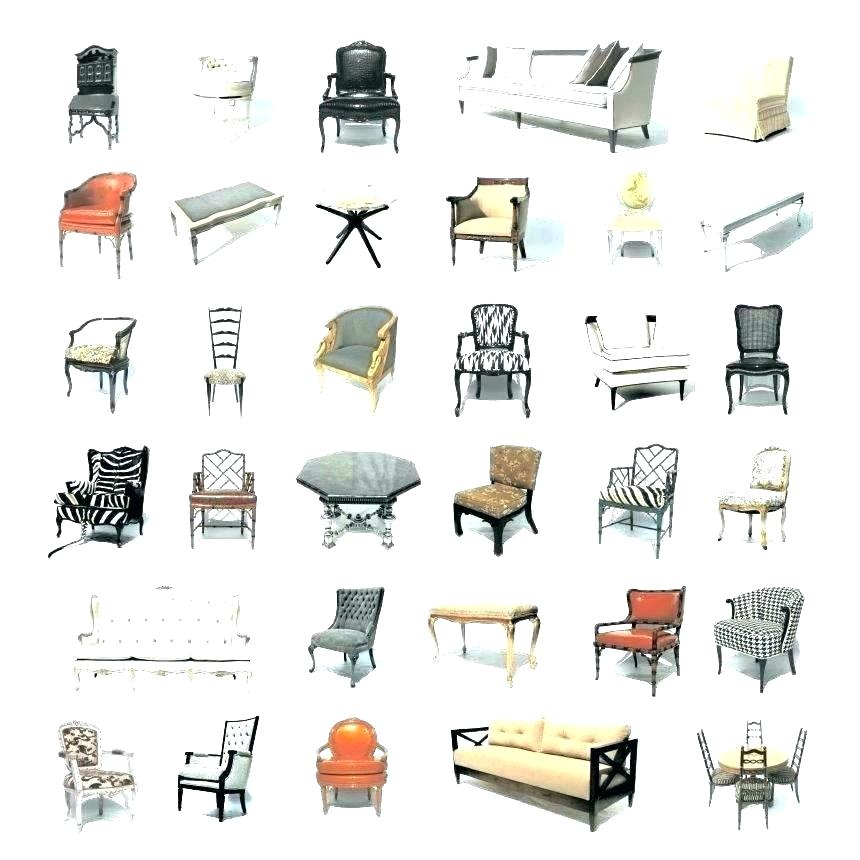 different types of chairs different types of furniture styles backless  couch daybed sofa type kinds chairs . different types of chairs