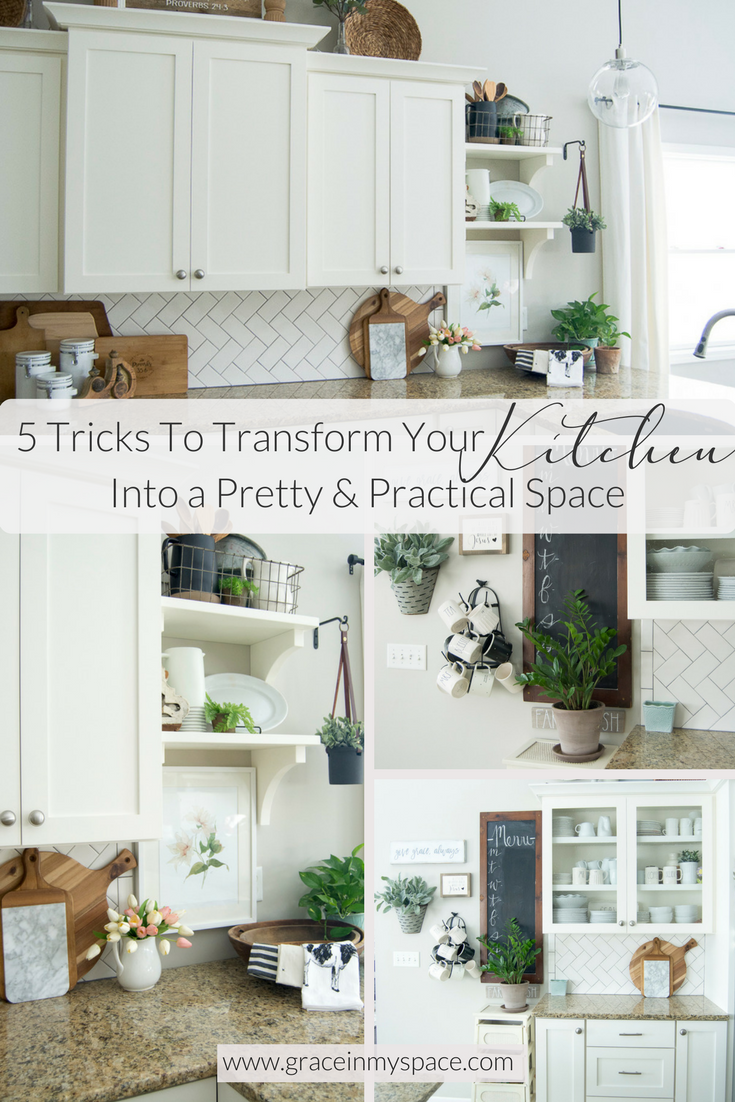 Spring Kitchen Decor|5 Tricks to Transform Your Kitchen Into a Pretty and  Practical Space