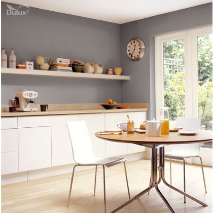 Chic Shadow Dulux paint - available now at Homebase in store and online at  Traveller Location.uk.