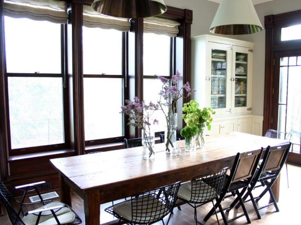 Bright Eclectic Dining Room