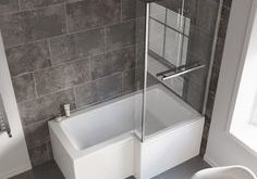 L-Shaped Shower Baths | L-Shaped Bath Shower - Traveller Location