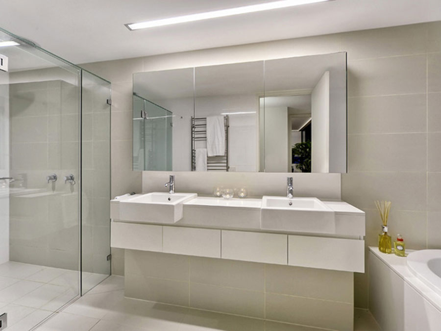 Large Bathroom Mirrors Design