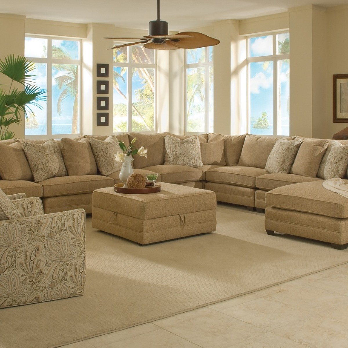 Extra Large Sectional Sofas Casual Home Furnishigs