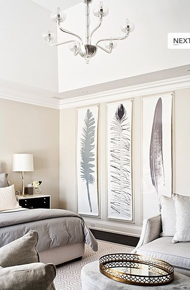 Decorating Large Walls - Large Scale Wall Art Ideas | Living