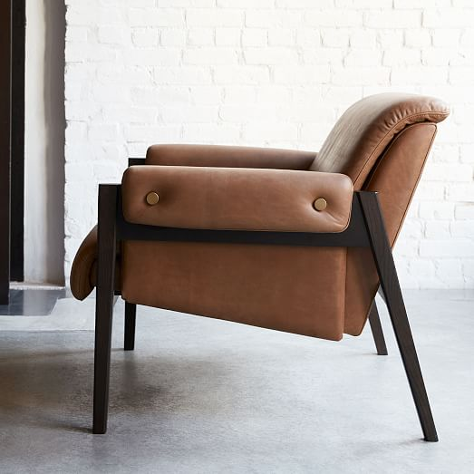 Stanton Leather Chair | west elm