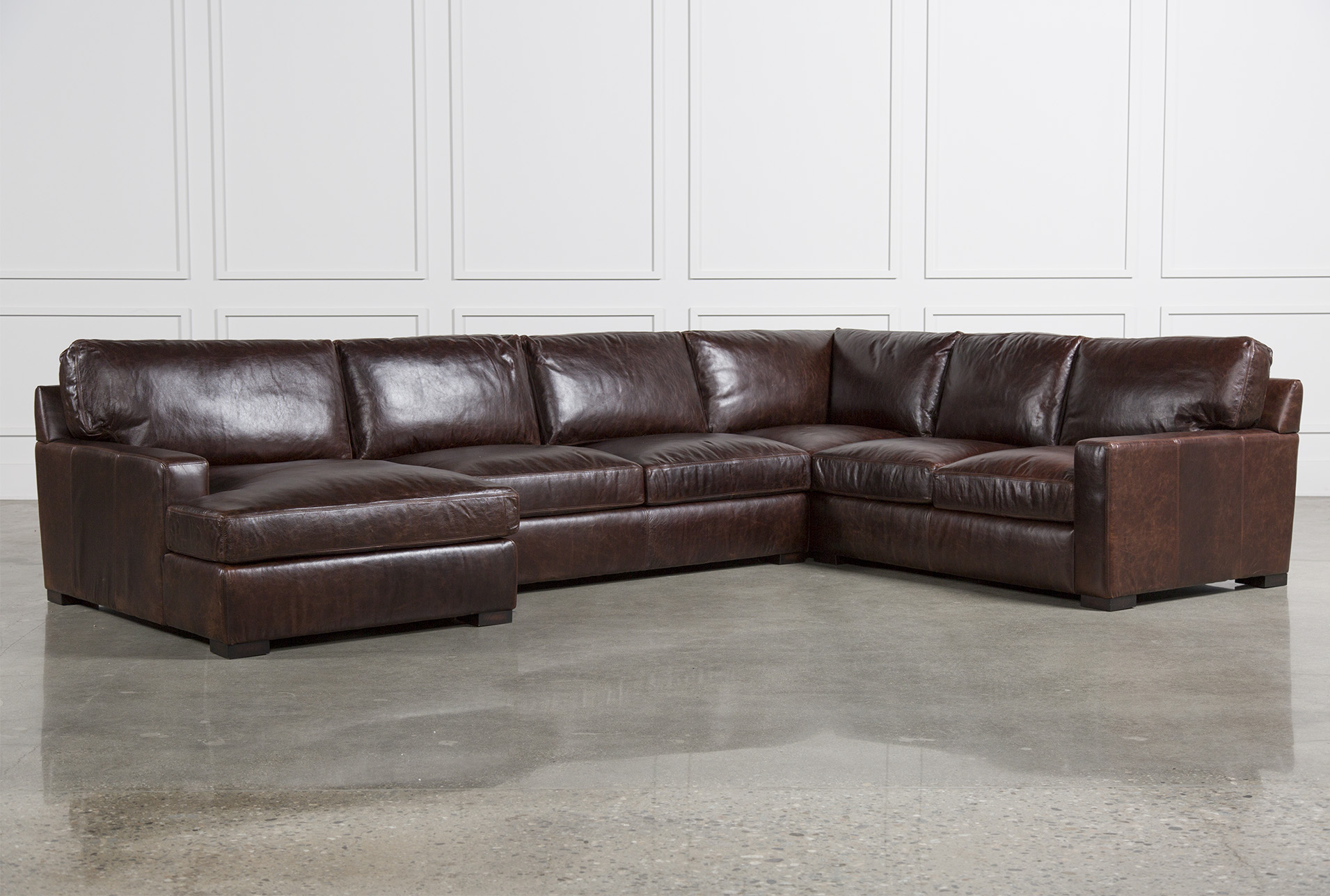 Leather Couches Sectional