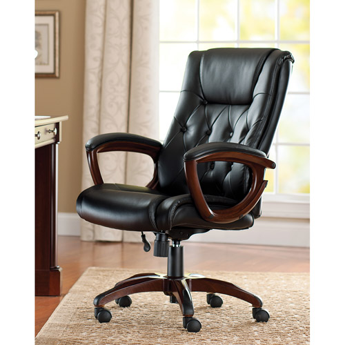 Better Homes and Gardens Bonded Leather Executive Office Chair - Traveller Location