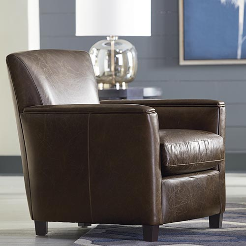 Leather Accent Chairs | Living Room | Bassett Furniture