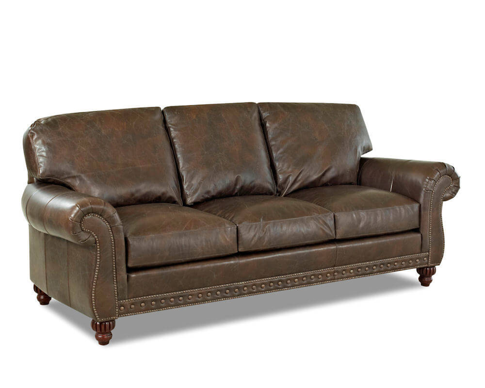 American Made Best Leather Sofa Sets by Comfort Design CL7002S