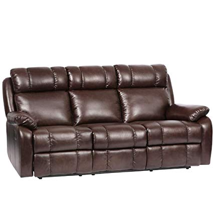 Image Unavailable. Image not available for. Color: Recliner Sofa Leather