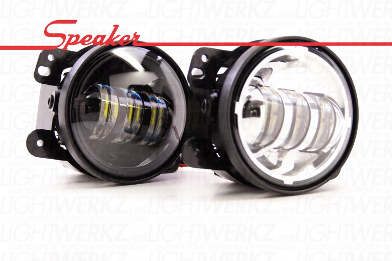 JW Speaker 6145 LED Fog Lights - Fog Light Assemblies - Headlight