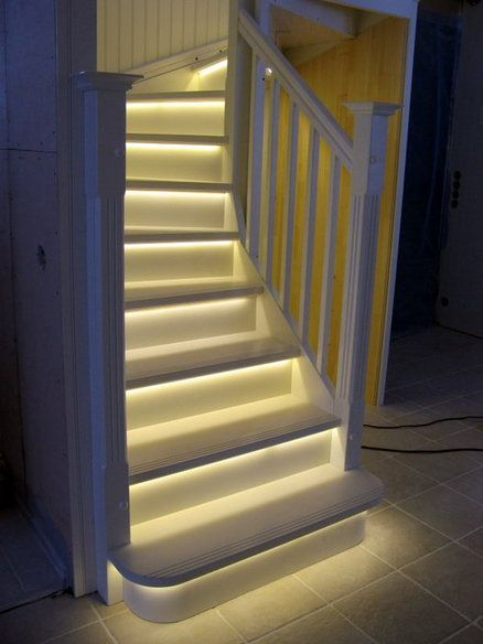 Stairway lighting ideas for modern and contemporary interiors