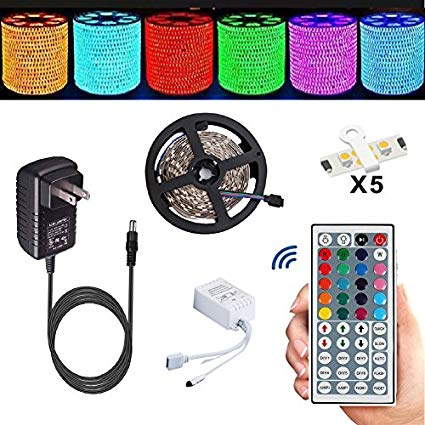 Amazon.com: Led Strip,TOPMAX 5050 16.4ft/5m RGB Led Strips Lighting