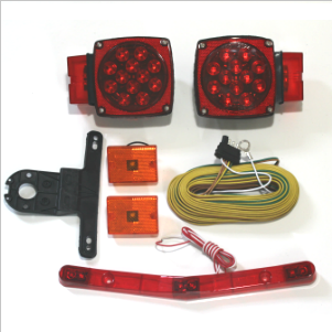 Waterproof Over 80'' LED Trailer Light Kit