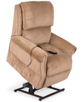 Furniture Raeghan Fabric Power Lift Reclining Chair