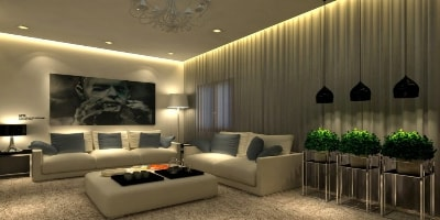 LED Living Room Lights Header