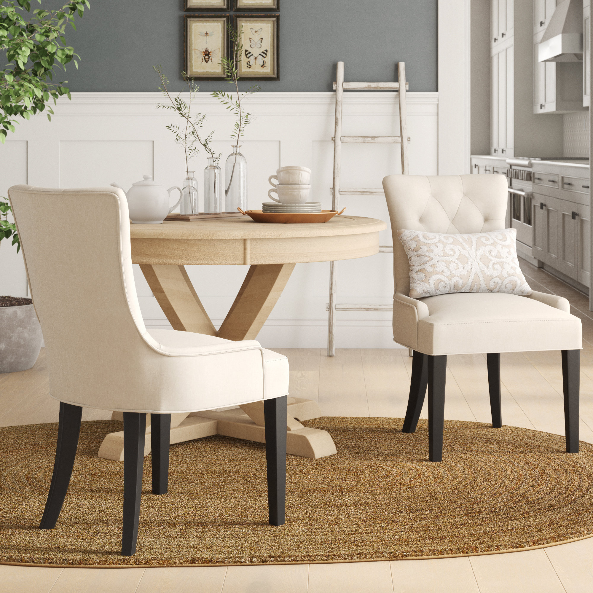 Birch Lane™ Heritage Grandview Upholstered Side Chair & Reviews | Wayfair