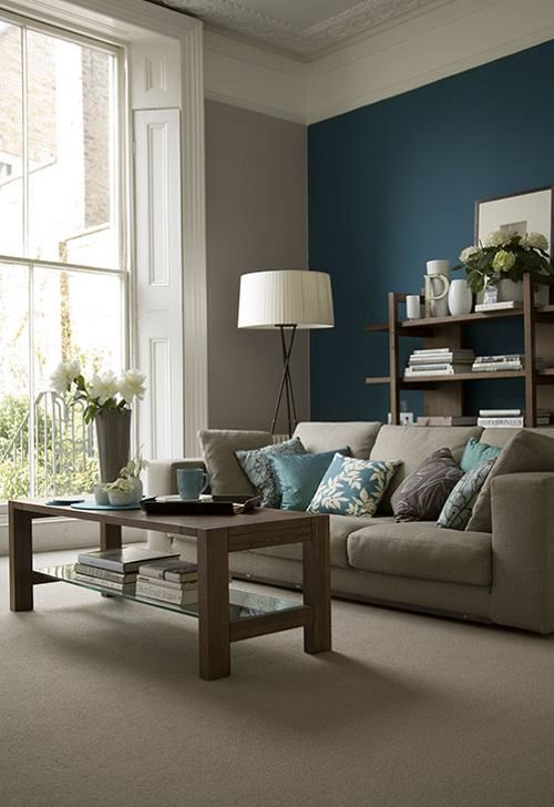 55 Decorating Ideas for Living Rooms | paint colors | Pinterest | Teal  living rooms, Home design living room and Living room decor