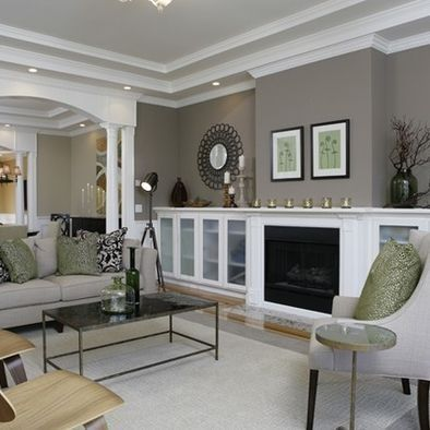 Love this color for the great room @ DIY House Remodel. Paint Living Room  Wall