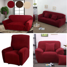 New Stretch Furniture Slipcover Choose from Chair Sofa Loveseat Recliner  Cover