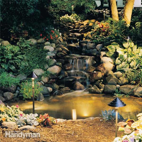 Outdoor low voltage lighting | The Family Handyman