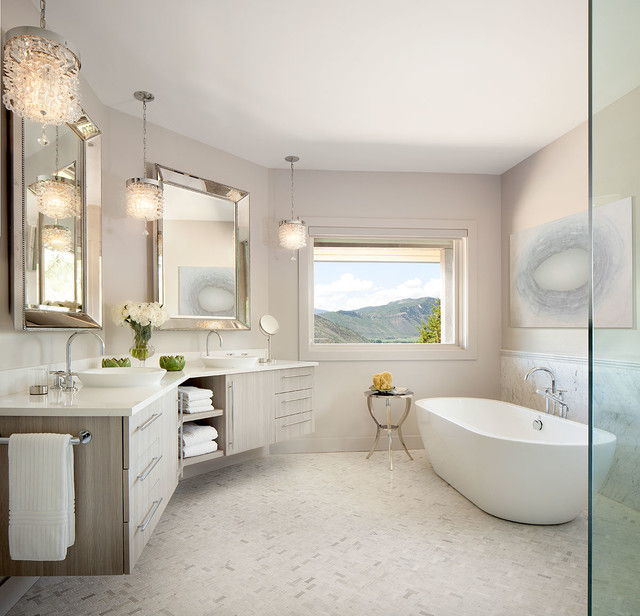 Luxury Bathrooms transitional-bathroom