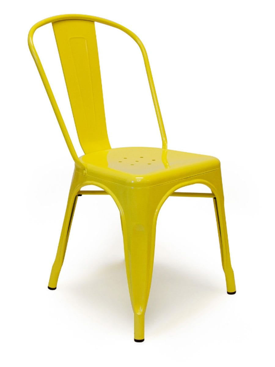Metal Yellow Chairs