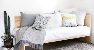 Bed Ideas For Small Rooms Or Small Spaces | Sleeper Sofa | Diy