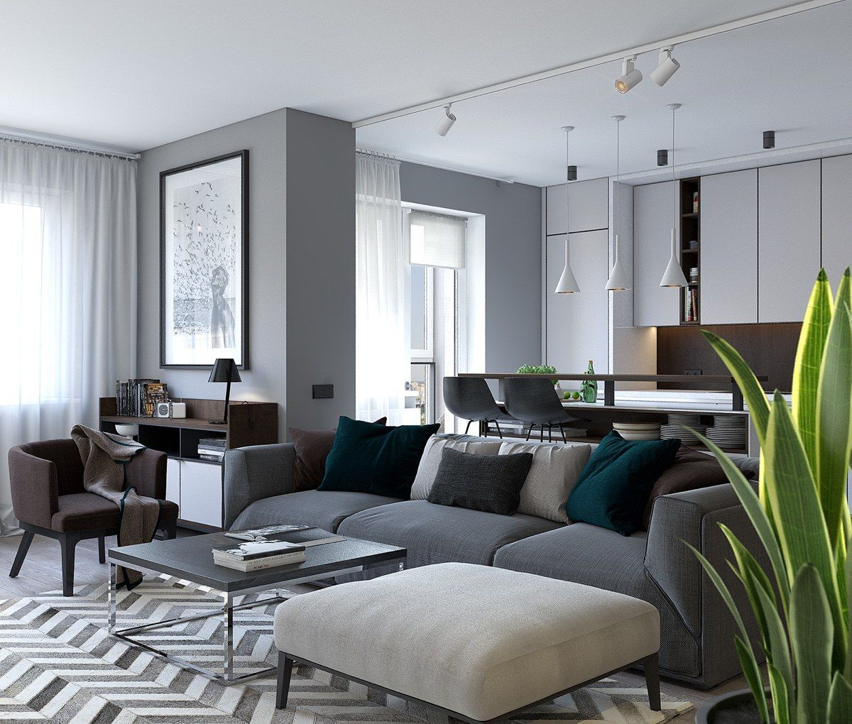 Would you like to arrange your small home interior design with minimalist  and modern decor ideas inside?