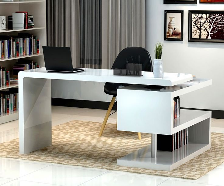 Decoration Alluring Small White Office Desk 4 Pretty 8 Home Desks For  Spaces Esjhouse Make Your small white corner office desk | Office | Modern  home office