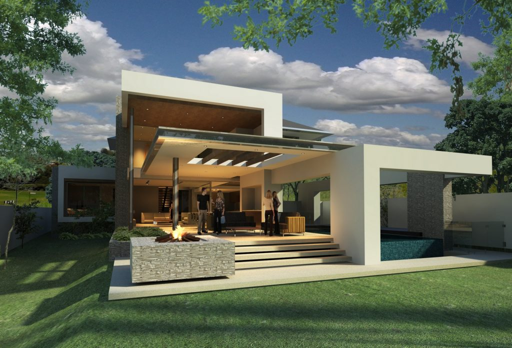 Modern Home Design by Maughan Building