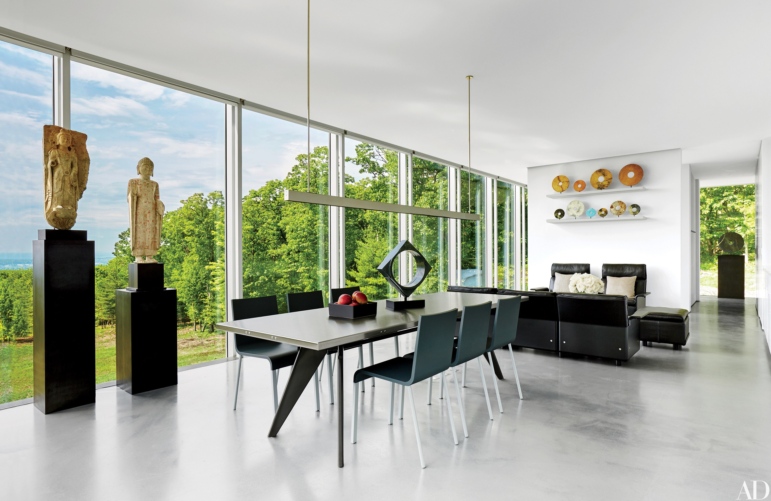 Contemporary Interior Design: 13 Striking and Sleek Rooms - Architectural  Digest