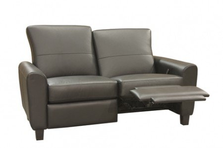 Modern recliner loveseat