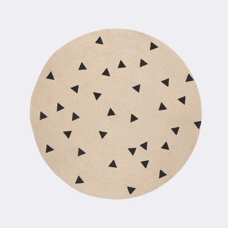 Additional view of Round Jute Rug