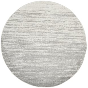 Mcguire Ivory/Silver Area Rug