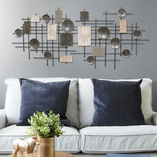 Large Modern Industrial Wall Décor