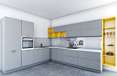 Mangiamo Modular Kitchen Designs: Buy Modular Kitchen Furniture at Best  Price in India - Pepperfry