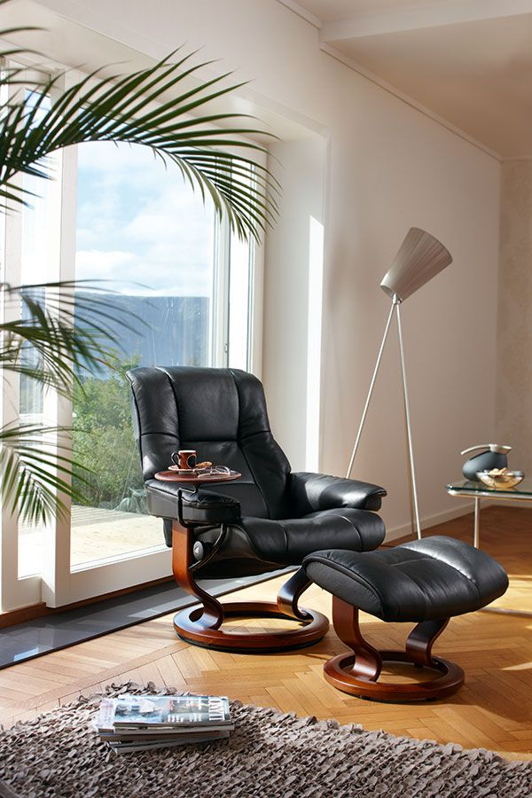 They are the most comfortable thing ever. Leather Recliner chairs |  Stressless