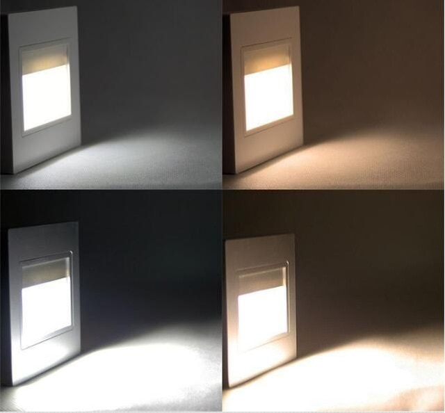Recessed Lighting Stairs Stair Light Wall Lamp PIR Motion Sensor Led