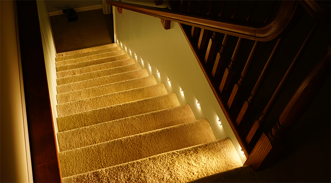 Motion Sensor Stair Lights
