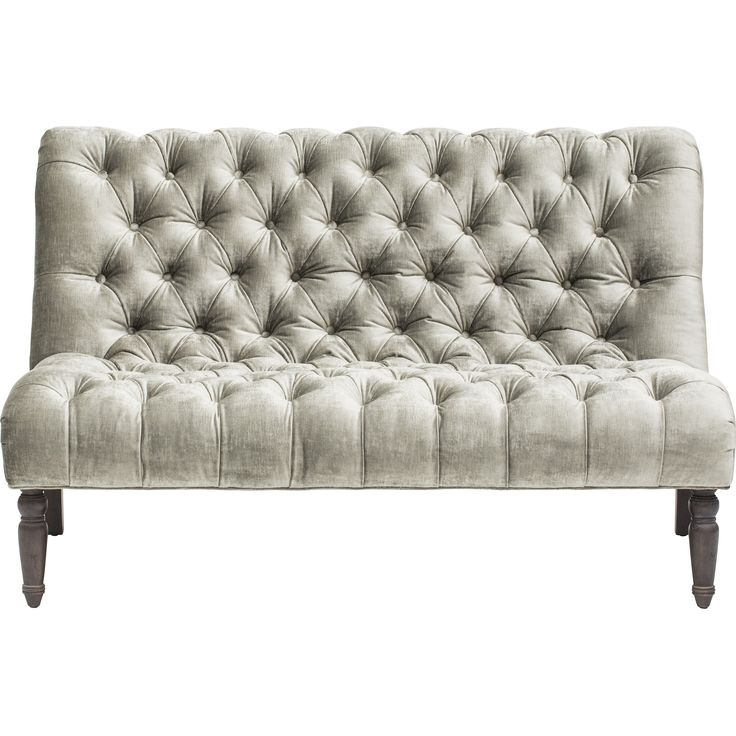 Furniture Gorgeous Armless Loveseat For Home Furniture Ideas Narrow Loveseat